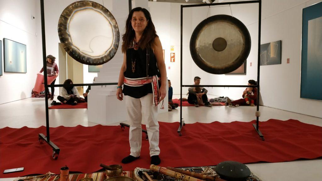 Gong en museo de Guadalajara