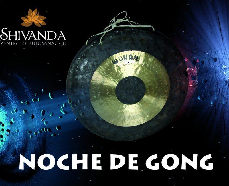 Cartel Noche de Gong gral